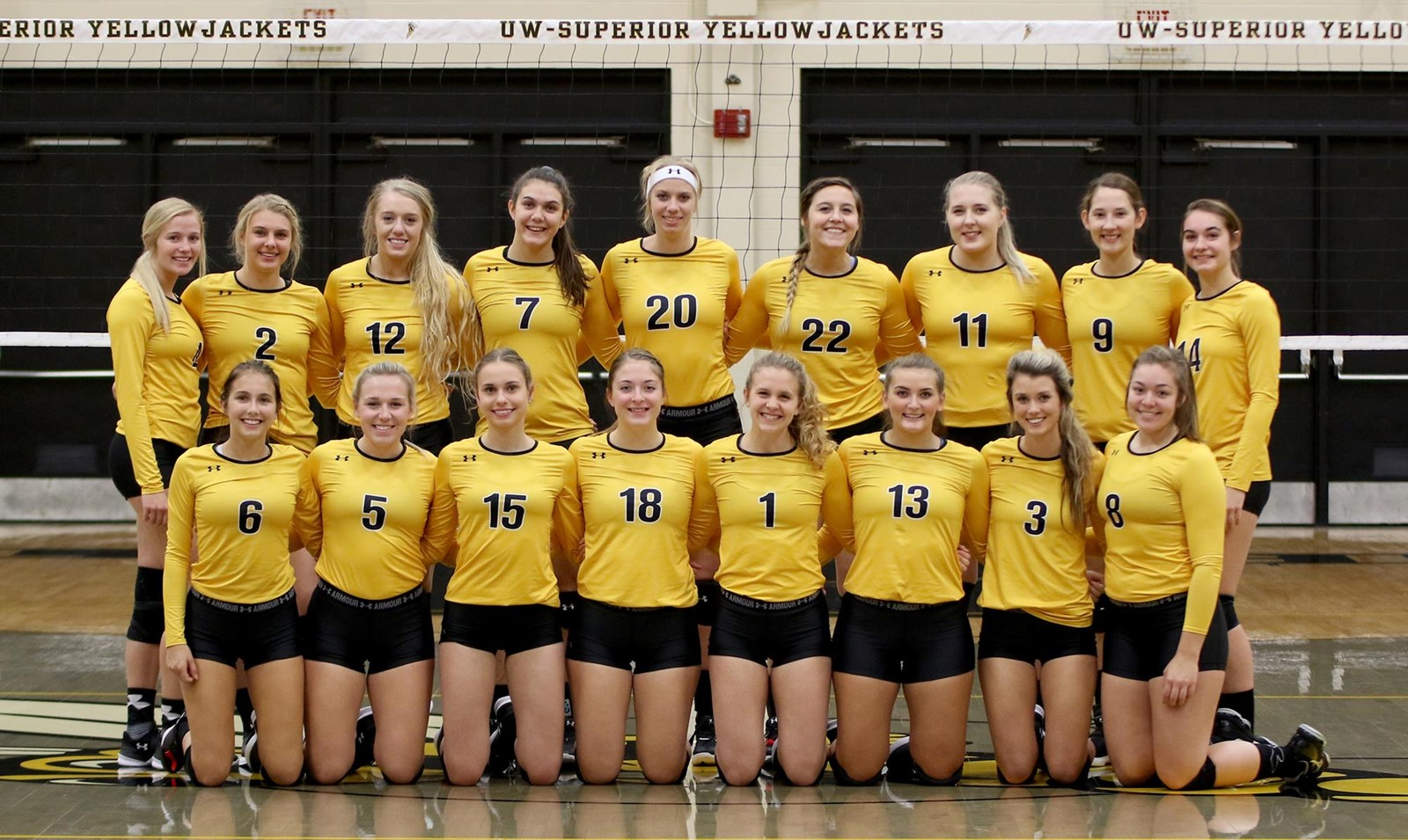 2018 Volleyball Roster University Of Wisconsin Superior Athletics