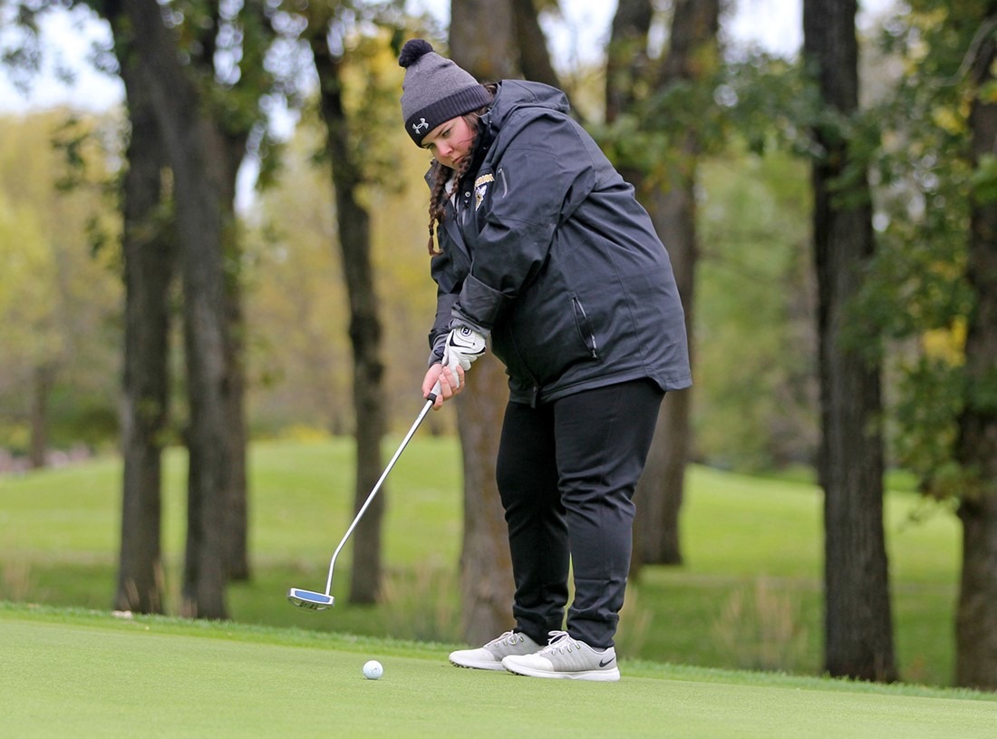 Women's Golf Fourth at North Central Invitational