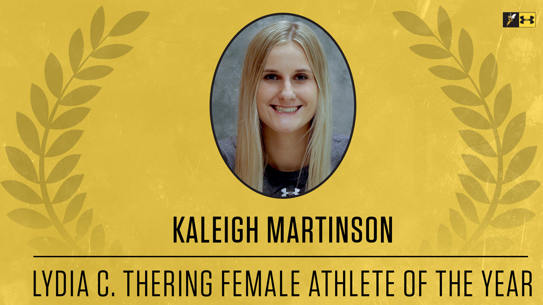 Yellowjacket Awards: Kaleigh Martinson Named Lydia C. Thering Female Athlete of the Year