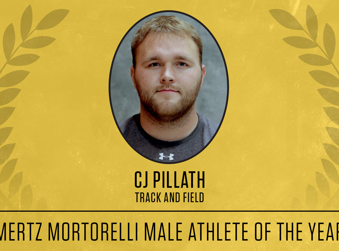 Yellowjacket Awards: CJ Pillath Named Mertz Mortorelli Male Athlete of the Year