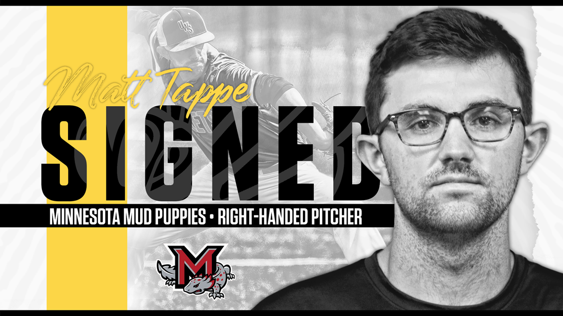 Tappe Makes Northwoods League Debut with Minnesota Mud Puppies